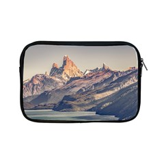 Fitz Roy And Poincenot Mountains Lake View   Patagonia Apple Ipad Mini Zipper Cases by dflcprints