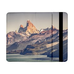 Fitz Roy And Poincenot Mountains Lake View   Patagonia Samsung Galaxy Tab Pro 8 4  Flip Case by dflcprints