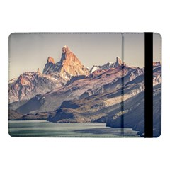 Fitz Roy And Poincenot Mountains Lake View   Patagonia Samsung Galaxy Tab Pro 10 1  Flip Case by dflcprints