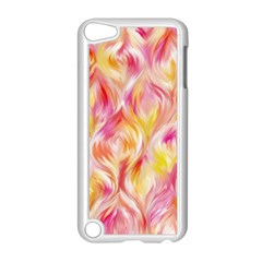 Pretty Painted Pattern Pastel Apple Ipod Touch 5 Case (white) by Nexatart