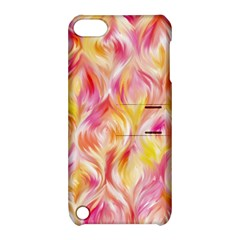 Pretty Painted Pattern Pastel Apple Ipod Touch 5 Hardshell Case With Stand by Nexatart