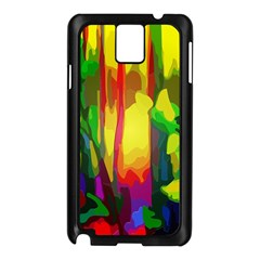 Abstract Vibrant Colour Botany Samsung Galaxy Note 3 N9005 Case (black) by Nexatart