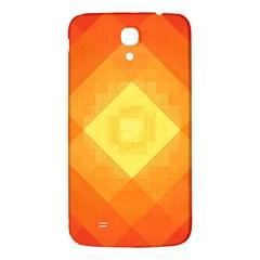 Pattern Retired Background Orange Samsung Galaxy Mega I9200 Hardshell Back Case by Nexatart