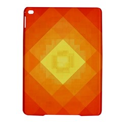 Pattern Retired Background Orange Ipad Air 2 Hardshell Cases by Nexatart