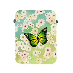 Green Butterfly Apple Ipad 2/3/4 Protective Soft Cases by linceazul
