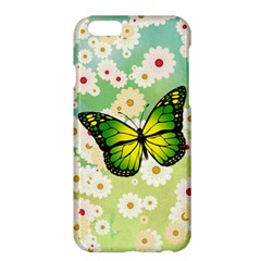 Green Butterfly Apple Iphone 6 Plus/6s Plus Hardshell Case by linceazul