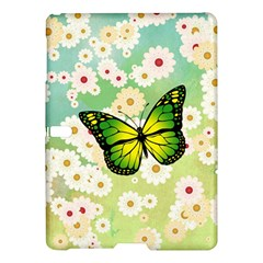 Green Butterfly Samsung Galaxy Tab S (10 5 ) Hardshell Case  by linceazul