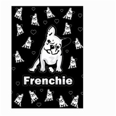Frenchie Large Garden Flag (two Sides) by Valentinaart