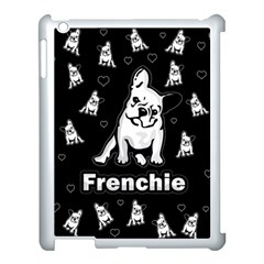 Frenchie Apple Ipad 3/4 Case (white) by Valentinaart