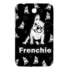 Frenchie Samsung Galaxy Tab 3 (7 ) P3200 Hardshell Case  by Valentinaart