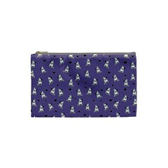 French Bulldog Cosmetic Bag (small)  by Valentinaart