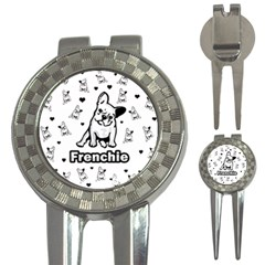 French Bulldog 3 In 1 Golf Divots by Valentinaart