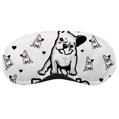 French Bulldog Sleeping Masks by Valentinaart