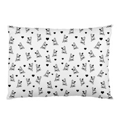 French Bulldog Pillow Case by Valentinaart
