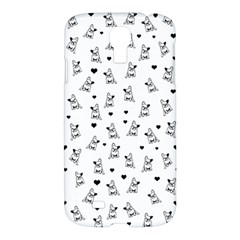 French Bulldog Samsung Galaxy S4 I9500/i9505 Hardshell Case by Valentinaart