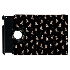 French Bulldog Apple Ipad 2 Flip 360 Case by Valentinaart