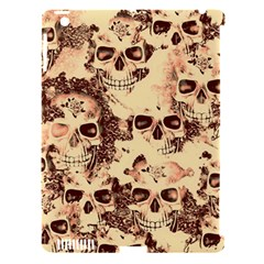 Cloudy Skulls Beige Apple Ipad 3/4 Hardshell Case (compatible With Smart Cover) by MoreColorsinLife