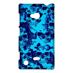 Cloudy Skulls Blue Nokia Lumia 720 by MoreColorsinLife