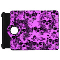 Cloudy Skulls Pink Kindle Fire Hd 7  by MoreColorsinLife