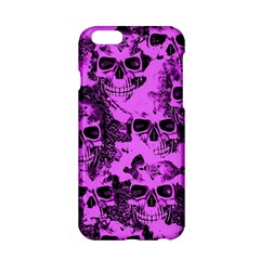 Cloudy Skulls Pink Apple Iphone 6/6s Hardshell Case by MoreColorsinLife