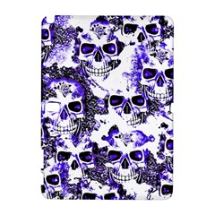 Cloudy Skulls White Blue Galaxy Note 1 by MoreColorsinLife