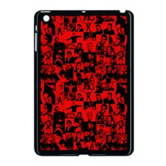 Elvis Presley Pattern Apple Ipad Mini Case (black) by Valentinaart