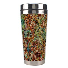 Paint          Stainless Steel Travel Tumbler by LalyLauraFLM