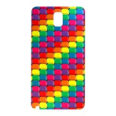 Colorful 3d Rectangles     Samsung Galaxy Note 10 1 (p600) Hardshell Case by LalyLauraFLM