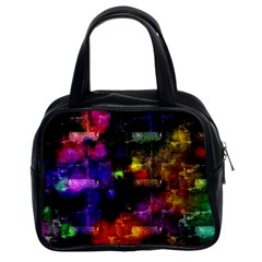 Colorful bricks            Classic Handbag (Two Sides) by LalyLauraFLM