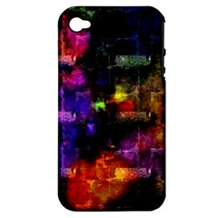 Colorful Bricks      Apple Iphone 3g/3gs Hardshell Case (pc+silicone) by LalyLauraFLM