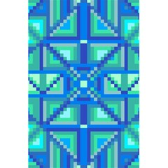 Grid Geometric Pattern Colorful 5 5  X 8 5  Notebooks by Nexatart