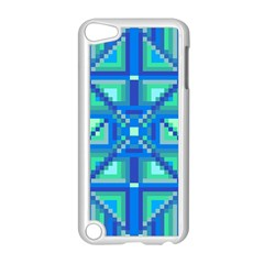 Grid Geometric Pattern Colorful Apple Ipod Touch 5 Case (white) by Nexatart