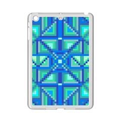 Grid Geometric Pattern Colorful Ipad Mini 2 Enamel Coated Cases by Nexatart