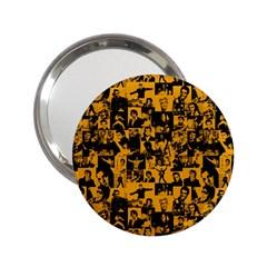 Elvis Presley Pattern 2 25  Handbag Mirrors by Valentinaart