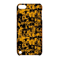 Elvis Presley Pattern Apple Ipod Touch 5 Hardshell Case With Stand by Valentinaart