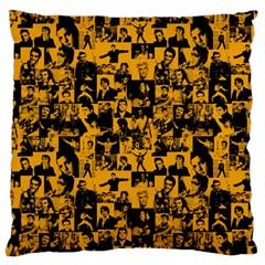 Elvis Presley Pattern Standard Flano Cushion Case (one Side) by Valentinaart