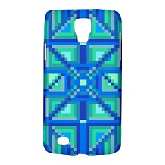 Grid Geometric Pattern Colorful Galaxy S4 Active by Nexatart
