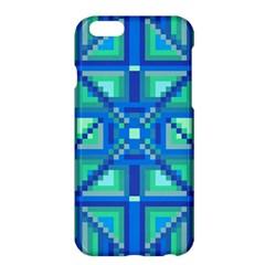 Grid Geometric Pattern Colorful Apple Iphone 6 Plus/6s Plus Hardshell Case by Nexatart