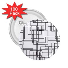 Structure Pattern Network 2 25  Buttons (100 Pack)  by Nexatart