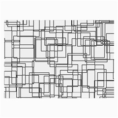 Structure Pattern Network Large Glasses Cloth (2 Side) by Nexatart