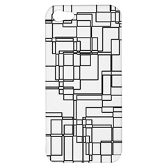 Structure Pattern Network Apple Iphone 5 Hardshell Case by Nexatart