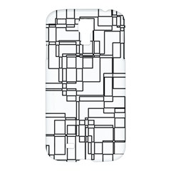 Structure Pattern Network Samsung Galaxy S4 I9500/i9505 Hardshell Case by Nexatart