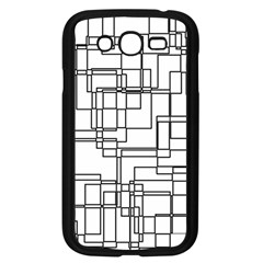 Structure Pattern Network Samsung Galaxy Grand Duos I9082 Case (black) by Nexatart