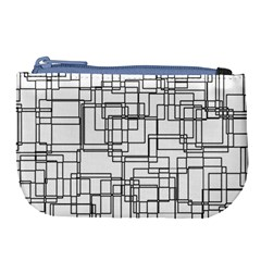 Structure Pattern Network Large Coin Purse by Nexatart