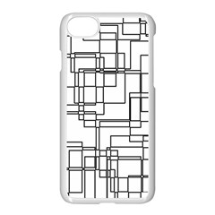 Structure Pattern Network Apple Iphone 7 Seamless Case (white) by Nexatart