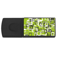 Pattern Abstract Form Four Corner Usb Flash Drive Rectangular (4 Gb) by Nexatart
