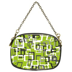 Pattern Abstract Form Four Corner Chain Purses (one Side)  by Nexatart