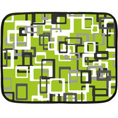 Pattern Abstract Form Four Corner Fleece Blanket (mini) by Nexatart