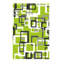 Pattern Abstract Form Four Corner Shower Curtain 48  X 72  (small)  by Nexatart