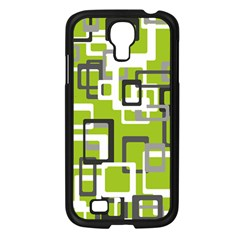 Pattern Abstract Form Four Corner Samsung Galaxy S4 I9500/ I9505 Case (black) by Nexatart